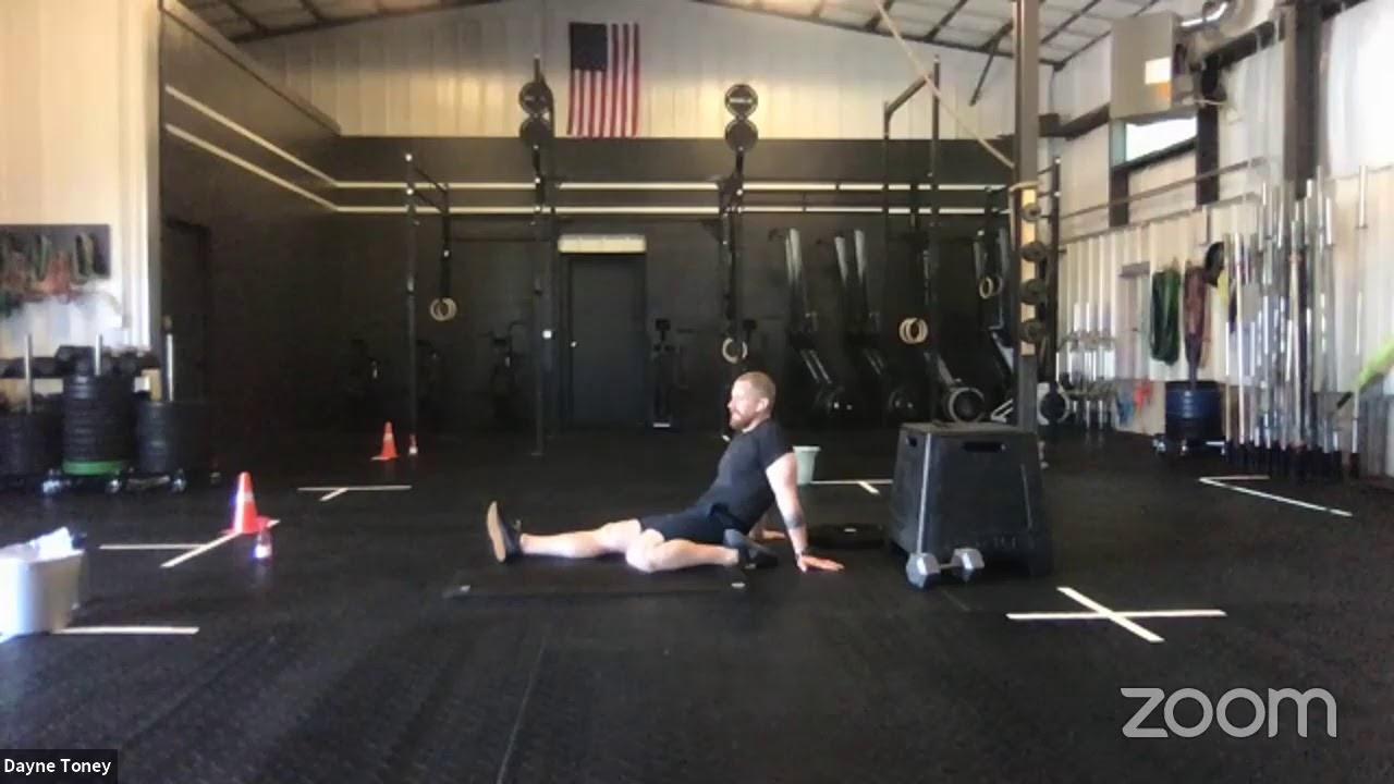 live workout 6/26/20