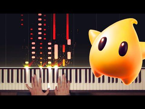 Super Mario Galaxy - Gusty Garden Galaxy Piano (Nostalgia Edition)