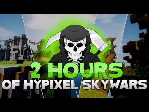 INSANE TWO FULL HOURS OF HYPIXEL SKYWARS! ( Episode 200 Special! )