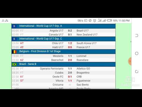Yesterdays Football Game Results From Livescore Cz Official Hd Video 2020