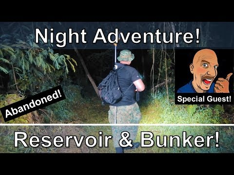 Abandoned Reservoir & WWII Bunker - Night Adventure in Singapore