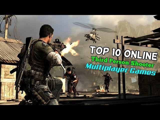 Top 10 Online TPS(Third Person Shooter) Multiplayer Games for iOS & Android (WiFi)
