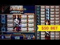 JACKPOT HANDPAY! Spartacus Slot - $50 High Limit Bet Bonus!