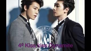 """1st Japanese Album """"Ride Me"""" Song List - Eunhyuk & Donghae"""