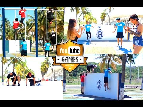 CAP #3: COMPETENCIA DE RELEVOS #YoutubeGames | Alejo&Mafe