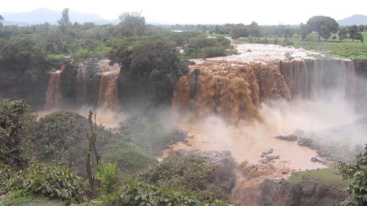 Populaire Chutes du Nil Bleu, Blue Nile Falls, Ethiopie, Ethiopia HD - YouTube UT28