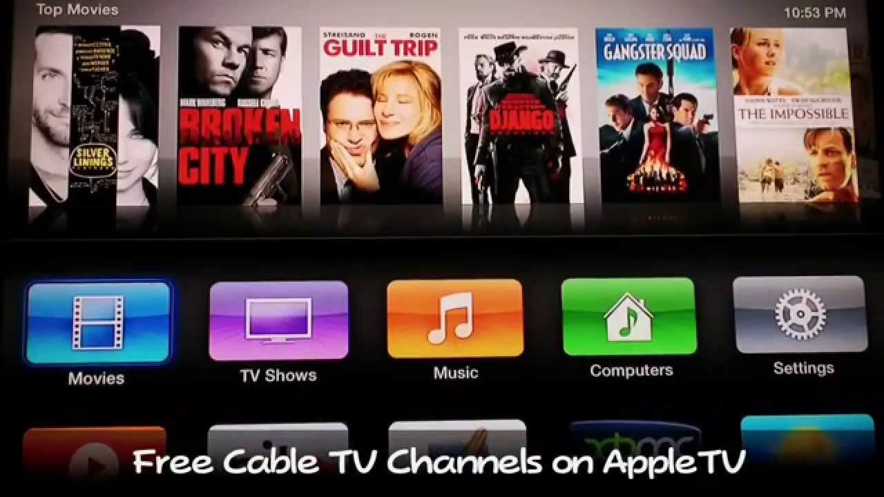 How to Watch Live HDTV Channels Free on Apple TV - NO MORE CABLE BILL!!!