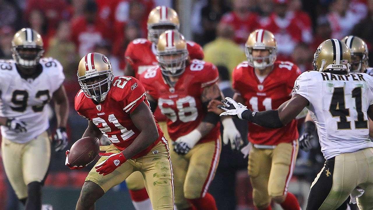 Image result for 49ers vs saints 2011