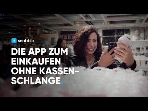 snabble – Die App zum Einkaufen ohne Kassenschlange