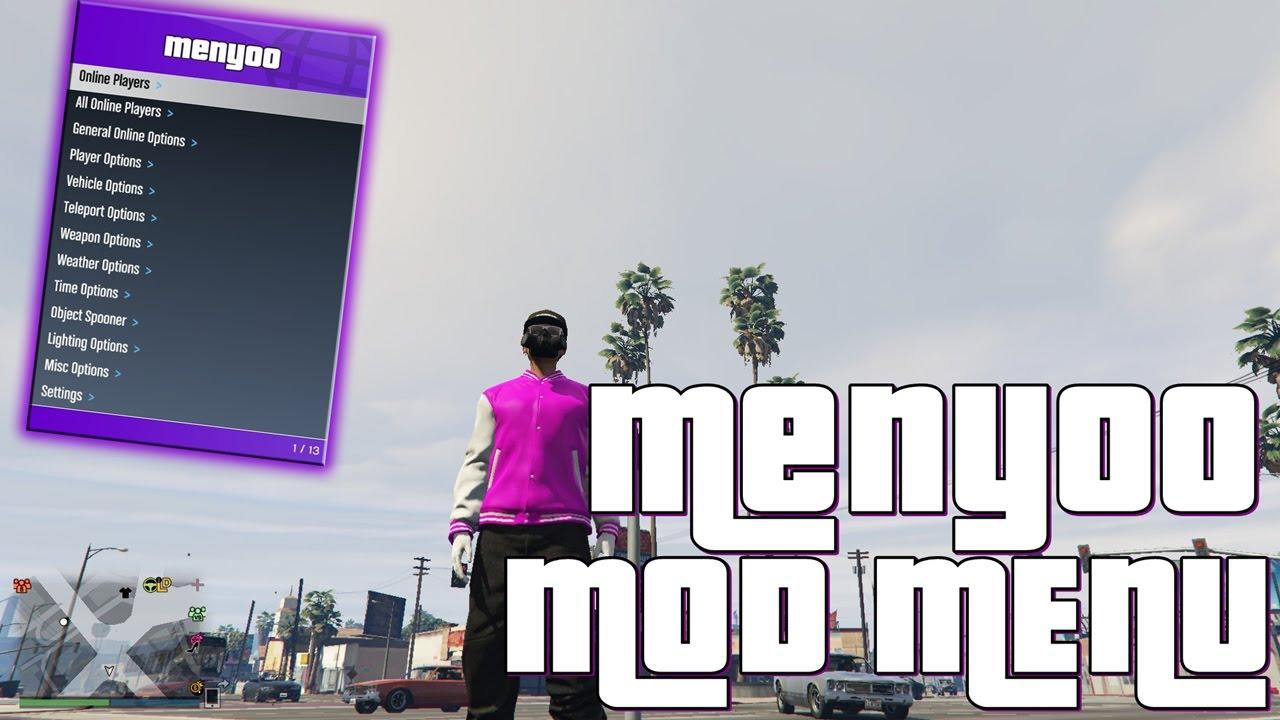 GTA V PC Online 1 39 Mod Menu W/ Menyoo Menu Undetectable Version