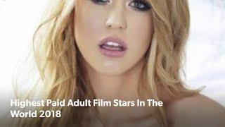 Top Highest paid pornstar actress 2018