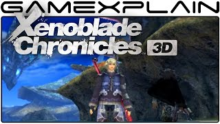 8 Minutes of Xenoblade Chronicles 3D Hands-On Gameplay (Direct Feed - New Nintendo 3DS)