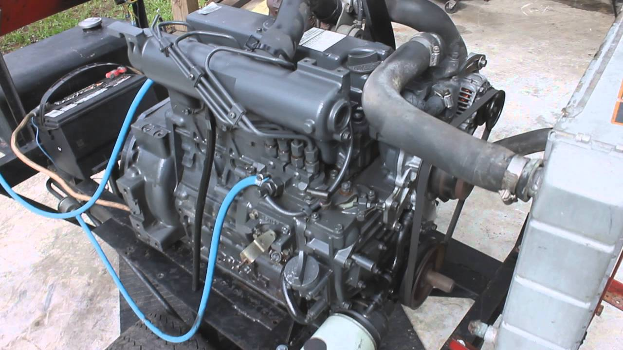 kubota v2003 turbo diesel engine