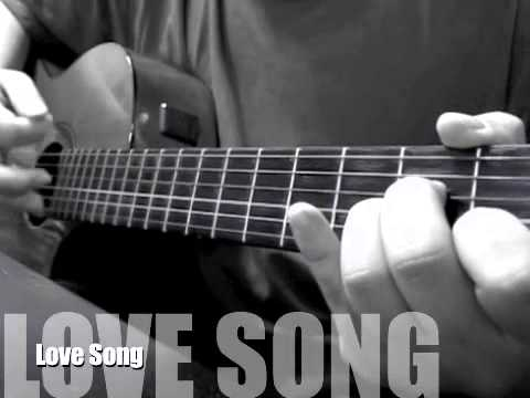 The Cure - Love Song [Solo Acoustic Cover]