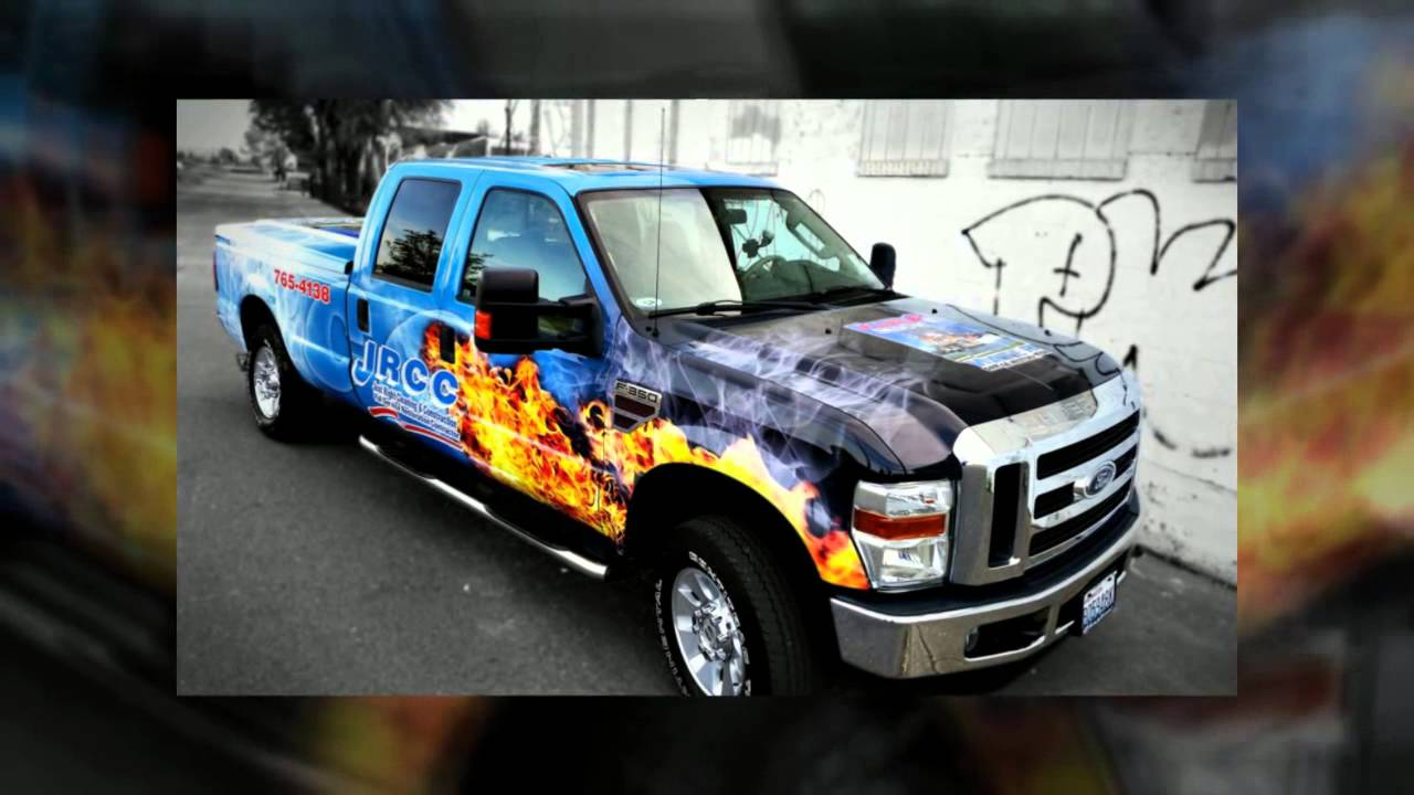 Ford F250 Advertising Wrap Pick Up Vinyl Wrap Youtube