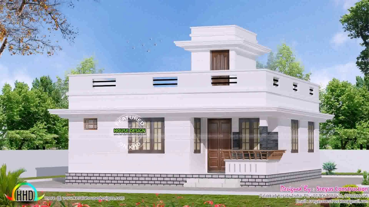 Small House Architecture Design In India Youtube