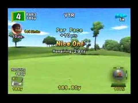 Hot Shots Golf Fore! Amazing shot!