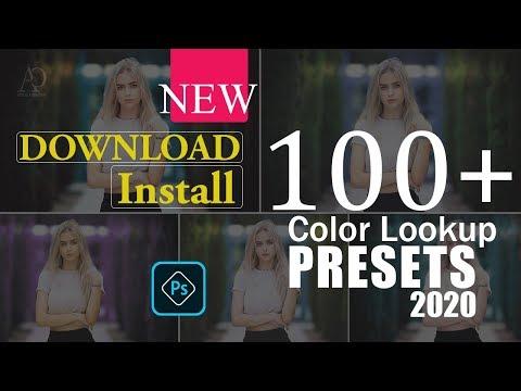 100 Plus Photoshop Presets Download | Download Photoshop 3D LUTs Presets | Color Lookup ||