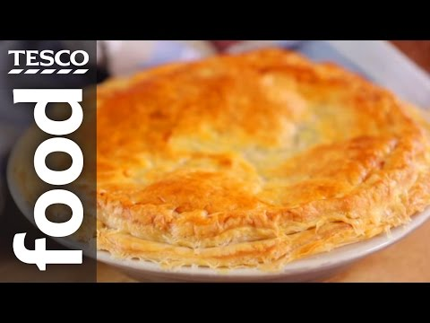 How To Make Chicken And Mushroom Pie | Tesco Food