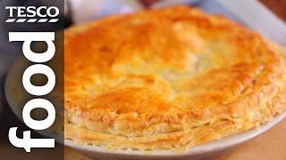 How To Make Chicken And Mushroom Pie | Tesco Food