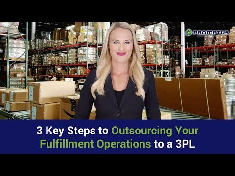 3 Key Steps to Outsourcing Your Fulfillment Operations to a 3PL | For Free Quote 1-877-776-6799