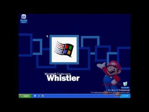 Upgrading Microsoft Whistler Build 2462 To Build 2465