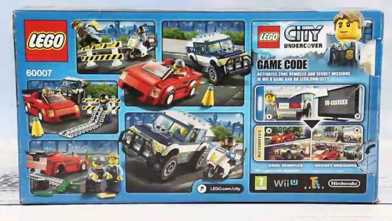 Police High Speed Chase Super Szybki Pościg Lego City 60007