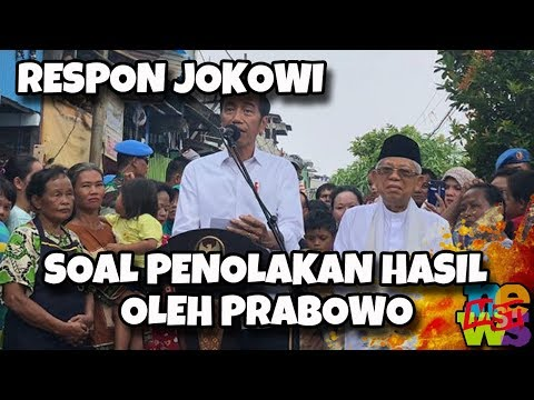 Prabowo Tolak Hasil Pemilu, Begini Respon Jokowi! | Wonderdir Pilpres