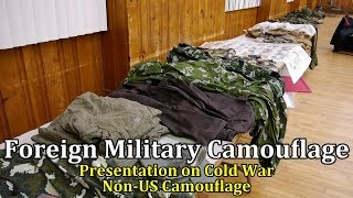 Foreign Military Camouflage: Presentation on Cold War Non-US Camouflage