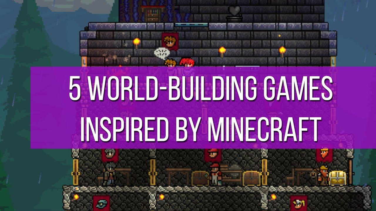 World Building Games Inspired By Minecraft YouTube - Minecraft ahnliche spiele ios