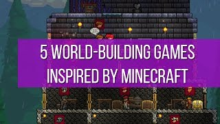 5 world building games inspired by Minecraft
