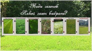 Виды газонов. Какой газон выбрать?