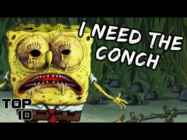 Top 10 Scary SpongeBob SquarePants Theories - Part 2