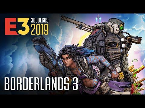 Borderlands 3 causa locura en el E3 tras jugarlo