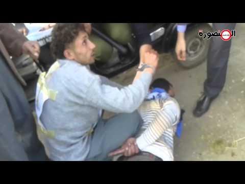 حصريًا:تمثيل جريمة قتل سائق توك توك بلقاس وإلقاؤه في بحر 'العاصية' بنبروه