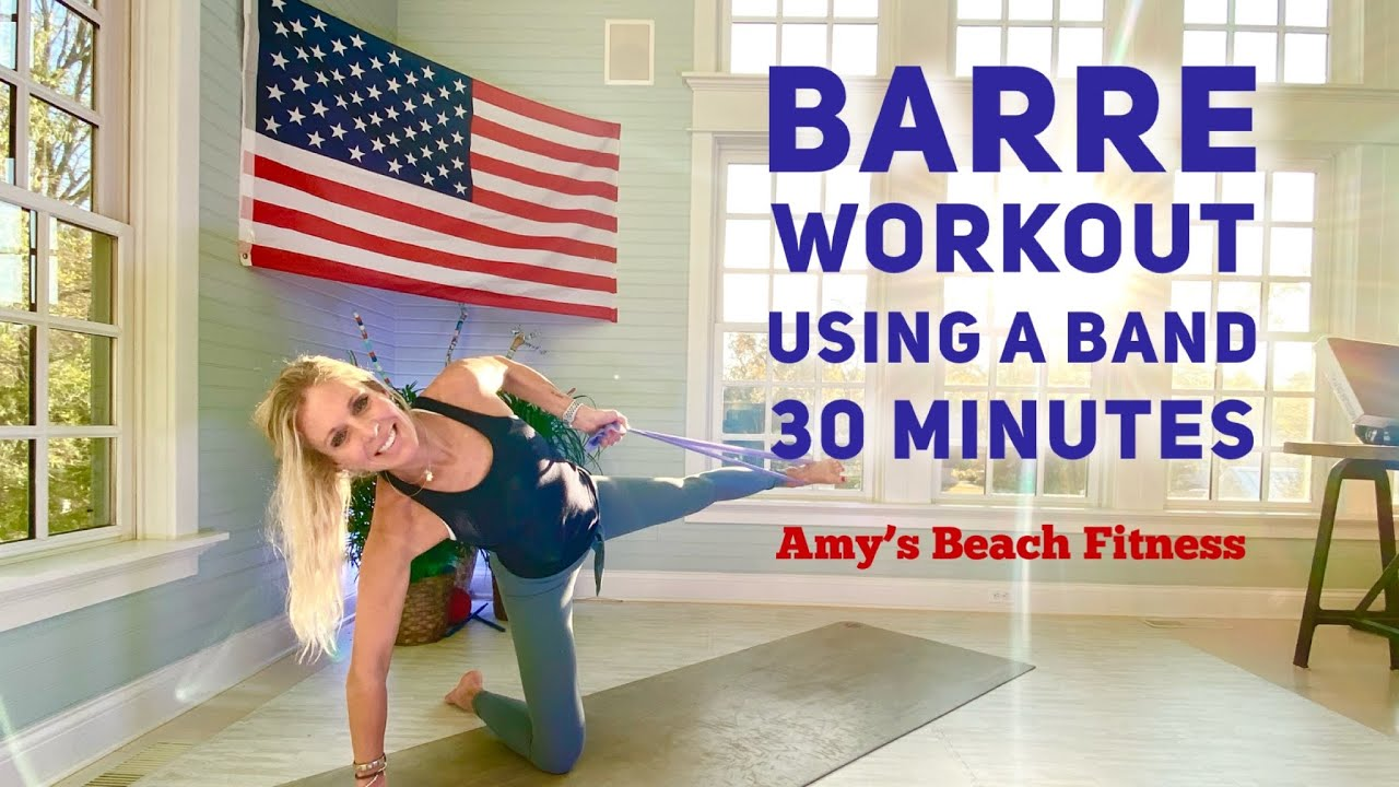 Pre-voting Barre Workout with a Band!  Please VOTE!