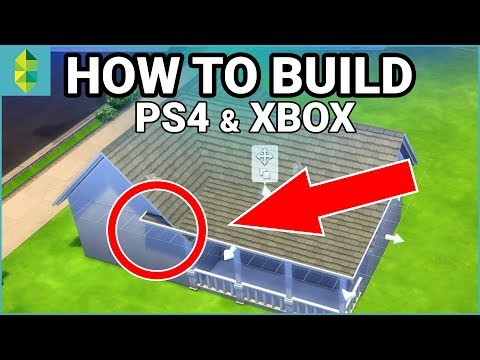 [PS4/Xbox] HOW TO BUILD - Cheats, Scaling, & More! (Sims 4 Console)
