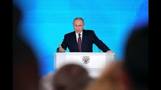 Putin delivers annual address to Russia's Federal Assembly