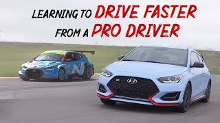 Learning to Drive Faster From a Professional Race Car Driver