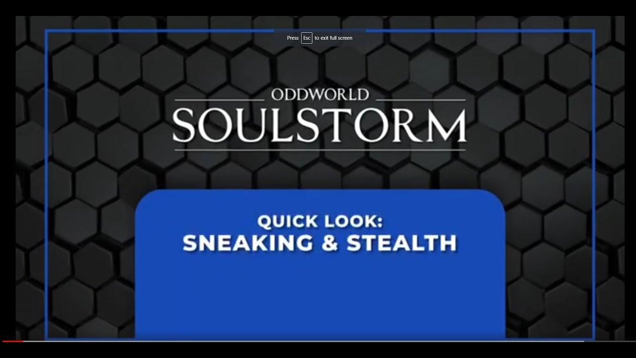 Quick Look: Sneaking and Stealth!