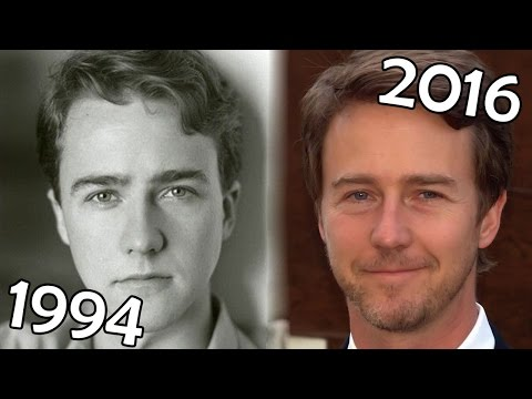 Edward Norton (1994-2016) all movies list from 1994! How much has changed? Before and After!