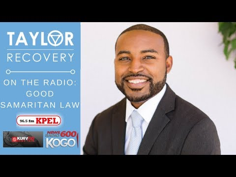 Drug Overdose & Good Samaritan Law | Ryan Davis, Taylor Recovery
