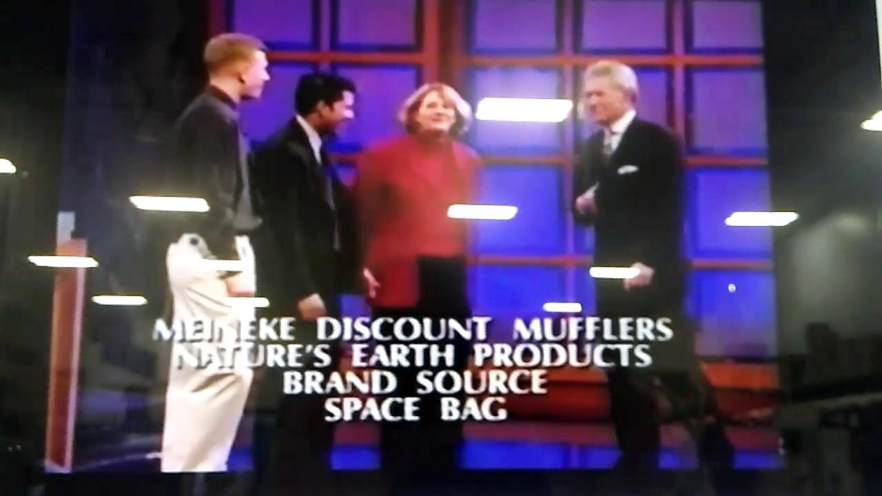 Jeopardy Season 18 Long End Credits 6 7 2002 Dileep Rao