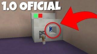 COMO FAZER UMA MAQUINA DE LAVAR QUE FUNCIONA SEM MODS ! (Minecraft Pocket Edition 1.0 OFICIAL)
