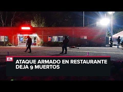 Ataque armado deja 9 muertos en Guanajuato