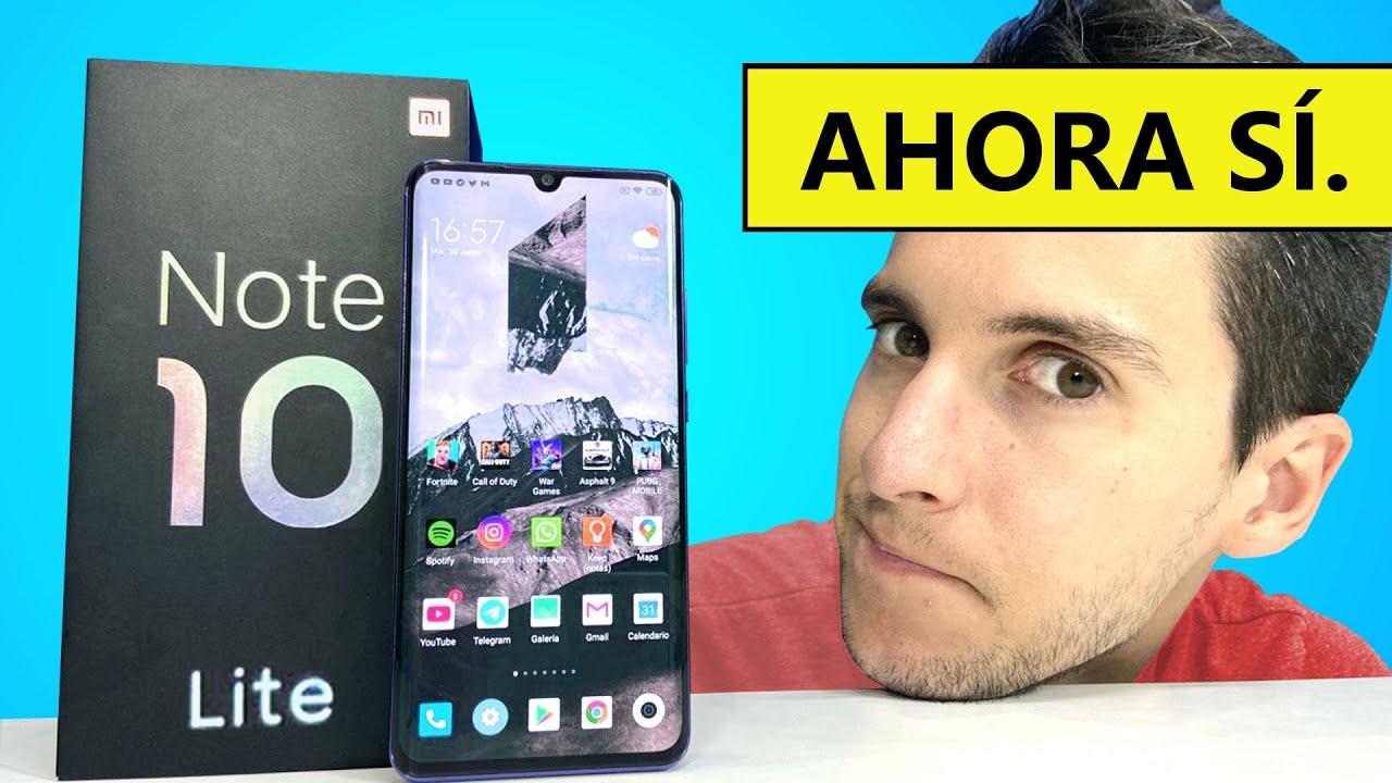¿Es el Xiaomi MÁS recomendable? Mi Note 10 Lite REVIEW en español