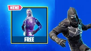 I got a free Skin on the Fortnite..