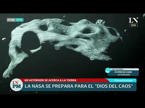 """La NASA se prepara para el """"dios del caos"""""""