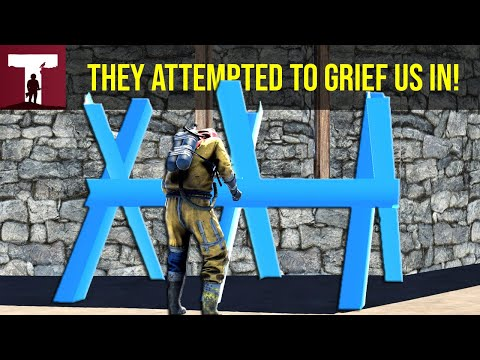THEY TRIED TO GRIEF US IN! (Rust) thumbnail