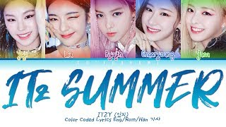 All rights administered by jyp entertainment • artist: itzy (있지) song ♫: it'z summer album: 'it'z different' released: 19.7.29 engtrans: cutegorami ......